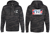 Veterans Hoodies - Adult Black Camo